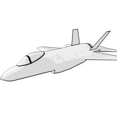 F-35 Lightning (white)