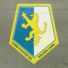 Golden Lions Squadron Logo