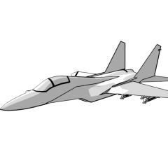 MiG-29 Fulcrum (white)