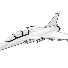 Dassault Rafale (white)