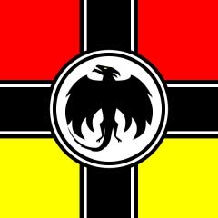 Rhein-Loire Republic Flag