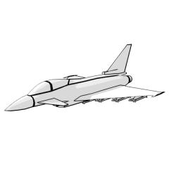 Eurofighter Typhoon (white)