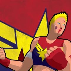 Fight Like a Girl - Captain Marvel