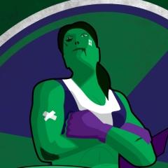 Fight Like a Girl - She-Hulk