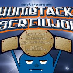 Thumbtacks & Screwjobs Podcast Logo