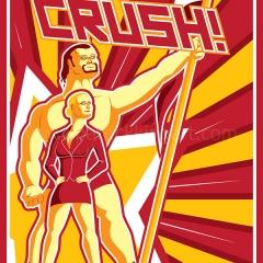 Rusev CRUSH - Rusev & Lana
