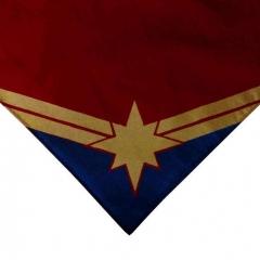 Screen Printed Captain Marvel Bandana