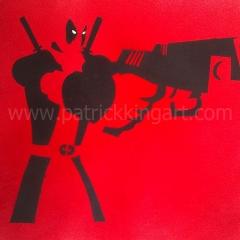 Spray Painted Deadpool