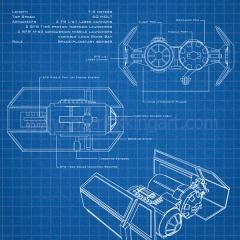 Star Wars Blueprints - TIE Bomber