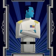 Star Wars Grand Admiral Thrawn - Art Deco