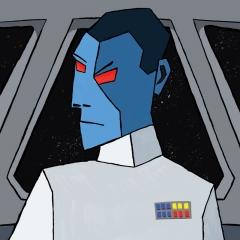 Star Wars Grand Admiral Thrawn - Cubism