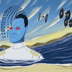 Star Wars Grand Admiral Thrawn - Surrealism