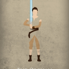 Star Wars The Force Awakens - Rey