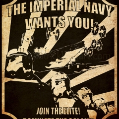 Imperial Navy Recruitment Poster