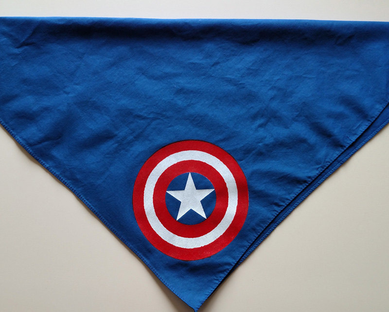 Marvel Comics - Captain America Screen Printed Bandana