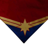 Marvel Comics - Captain Marvel Screen Printed Bandana