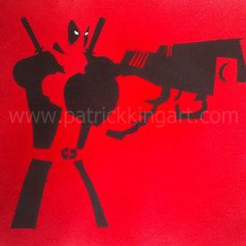 Marvel Comics - Deadpool Spray Painted Art Print