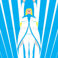 Valiant Comics Faith Art Print