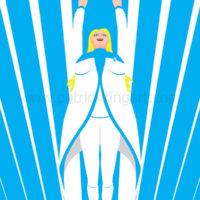 Valiant Comics Faith Art Print