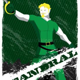 Marvel Comics - Guardians of Asgard - Fandral Art Print