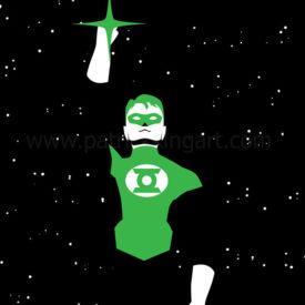 DC Comics - Green Lantern Art Print