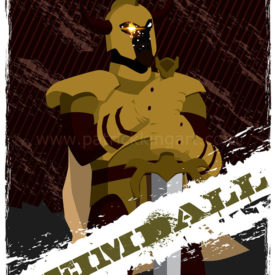 Marvel Comics Guardians of Asgard - Heimdall Art Print