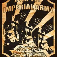 Star Wars Propaganda - Imperial Army Recruiting Poster Art Print
