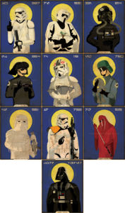 Star Wars Imperial Saints Collection