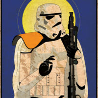 Imperial Saints - Sandtrooper Art Print