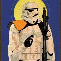 Imperial Saints - Sandtrooper Art Print