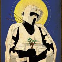 Imperial Saints - Scout Trooper Art Print