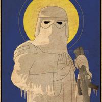 Imperial Saints - Snowtrooper Art Print