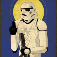 Imperial Saints - Stormtrooper Art Print