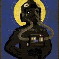 Imperial Saints - TIE Fighter Pilot Art Print