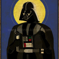 Imperial Saints - Darth Vader Art Print