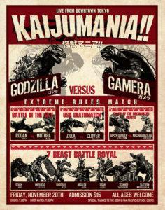 Kaijumania!! Wrestling Poster