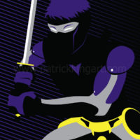 Valiant Comics Ninjak Art Print