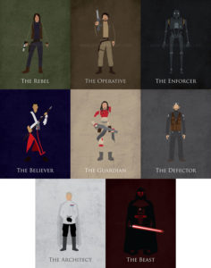 Star Wars Rogue One Minimalist Collection