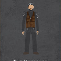 Star Wars Rogue One - Bodhi Rook Art Print