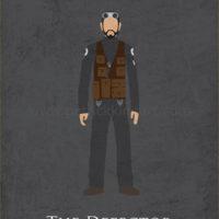 Star Wars Rogue One - Bodhi Rook Art Print