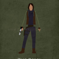 Star Wars Rogue One - Jyn Erso Art Print