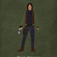 Star Wars Rogue One - Jyn Erso Art Print