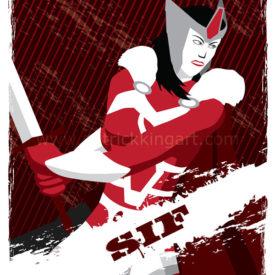 Marvel Comics - Guardians of Asgard - Sif Art Print