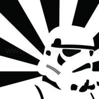 Star Wars Propaganda - Stormtrooper Art Print