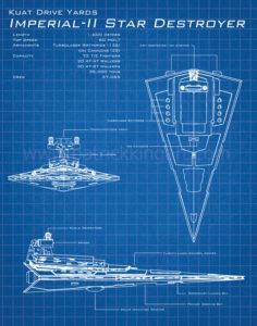 Star Wars Blueprints - Imperial Star Destroyer