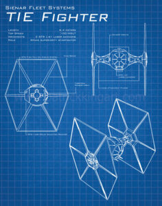 Star Wars Blueprints - TIE Fighter