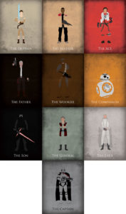 Star Wars The Force Awakens Minimalist Collection