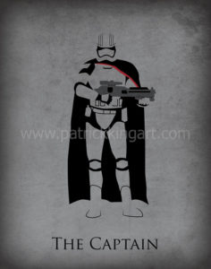Star Wars The Force Awakens - Captain Phasma