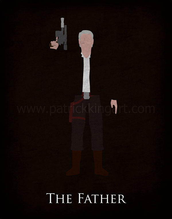 Star Wars The Force Awakens - Han Solo Art Print