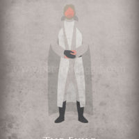 Star Wars The Force Awakens - Luke Skywalker Art Print